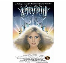 QWGYKR Xanadu Movie Art Print Poster Wall Art