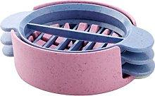 QWhing Multifunctional Creative Plastic Egg Slicer