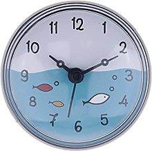 QWJYREMN Wall Clock Gray Border Decorative Wall