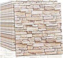QWNDTIE wallpaper for bedroom,3D Wall Panels,