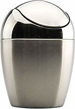 QWp Garbage Can Stainless Steel Trash Can