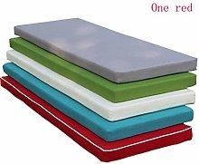 qwqqaq Patio Rectangle Bench Cushion,elastic