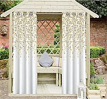 QWV Patio Curtains Outdoor,Thermal Insulated
