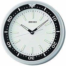 QXA723S Round Wall Clock