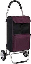 QXTT Shopping Trolley Lightweight Foldable Travel