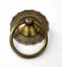 QXYOGO Head Door Knocker Archaize Style Pure