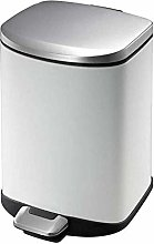 QYJpB Foot Mute Environment Trash Can Stainless