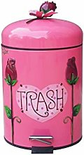 QYJpB Waste Bins Household Trash Can Bathroom with
