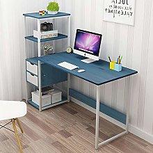 QYN Practical Compact Computer Desk,bookshelf Desk
