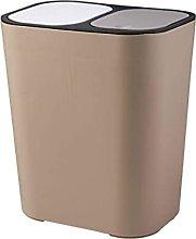 QYRKYP Trash Bin,Wastebasket Trash Can Plastic 2