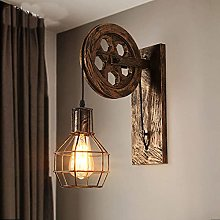 QYRKYP Vintage Wall Lamp Indoor Industrial Wall