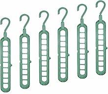 QYY Wardrobe Clothes Wonder Hanger Hooks Organiser