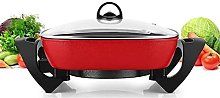 QZH Electric Kitchen Skillet with Nonstick
