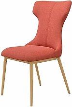 QZMX chair Cotton and Linen Seat Cushion Desk