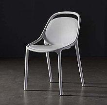 QZMX chair Lazy Backrest Restaurant Chair, Nordic