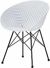 QZMX chair Nordic Leisure Plastic Chair, Light