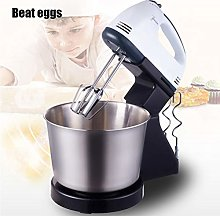 QZYQ Hand-Held Eggbeater, Electric Mixer, 7-Speed,