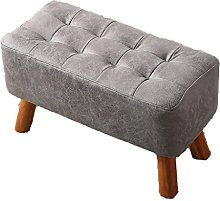 QZz Home Barstools Shoe bench sofa stool solid