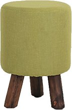 QZz Home Barstools Sofa stool solid wood shoes