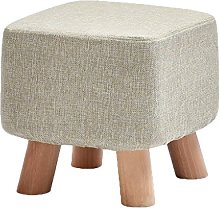 QZz Home Barstools Solid wood shoes stool sofa