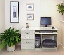 R. White Cabinets SET-06-IN Computer Workstation