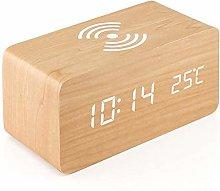 R&Xrenxia LED Alarm Clock, Multicolor Sound