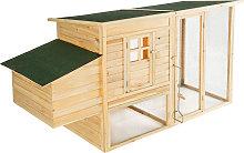 Rabbit hutch / chicken coop Isabella 198x75x102cm