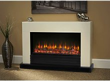 Raby Electric Fireplace Fire Heater Heating Real