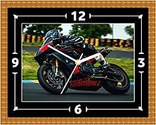 Race Bike Wall Clock Gift MotoGP Present Christmas