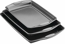 Rachael Ray Nonstick Bakeware Set with Grips,