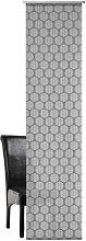 Rachael Single Panel Curtain Mercury Row Colour: