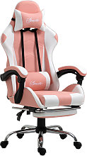 Racing Gaming Chair with Lumbar Support, Head