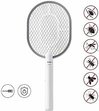 Racket Mosquito Fly Bugs Swatter, USB Charging Fly
