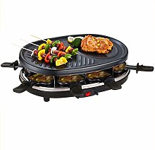 Raclette Grill Indoor Raclette Machine for 8