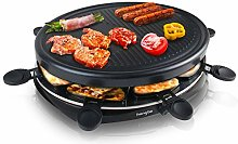 Raclette Grill Raclette Cheese Machine for 8