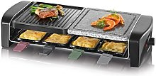 Raclette Party Grill with natural grill stone RG