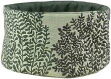 Rader - Green Cotton Bread Basket - cotton | green