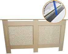 Radiator Cover MDF Unfinished 1515mm