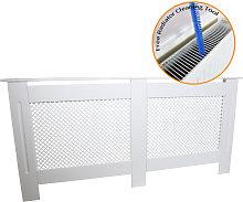Radiator Cover MDF White 1720mm