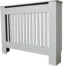 Radiator Cover Modern Painted White Traditional