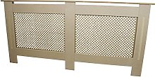 Radiator Cover Natural Unfinished MDF Wood