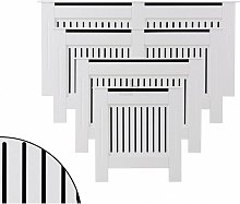 Radiator Cover Wall Cabinet MDF Wood Furniture
