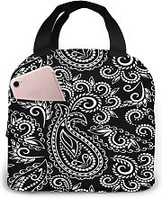 Raditional Black and White54 Portable Insulated