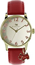 Radley Ladies Red Leather Strap Watch