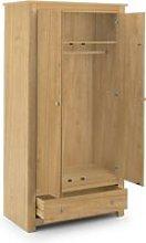 Radley Pine 2 Door Combination Wardrobe