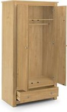 Radley Pine 2 Door Combination Wardrobe