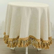 Radvihay Round Tablecloth for Wedding Party Lace