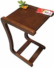 Radvihay Solid wood bed table lazy computer desk