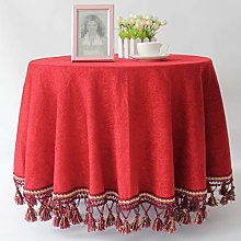 Radvihay Table Cover Round Wedding Party Hotel