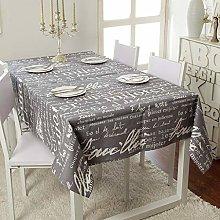 Radvihay Vintage Cotton Tablecloth